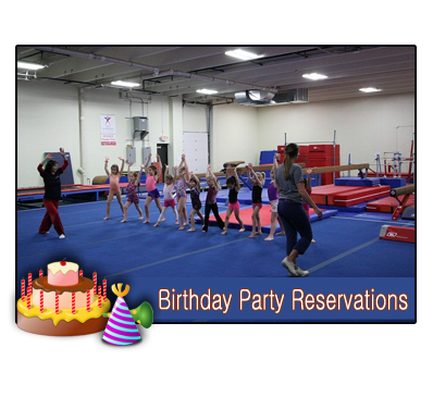 Online Birthday Party Room Reservations